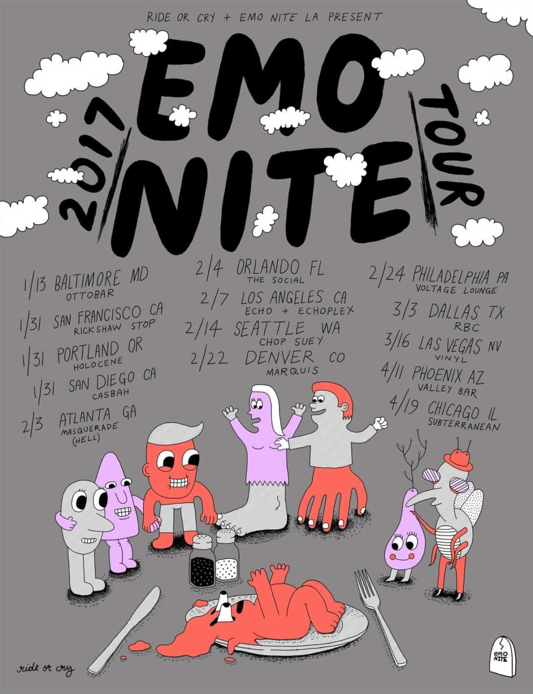 Emo Nite Tour--Coming to YOU!
