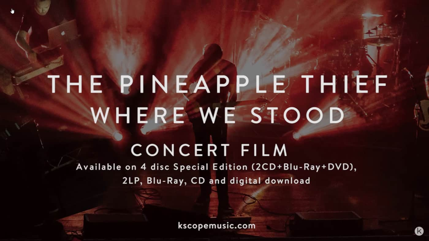 The Pineapple Thief - 10 Stories Down