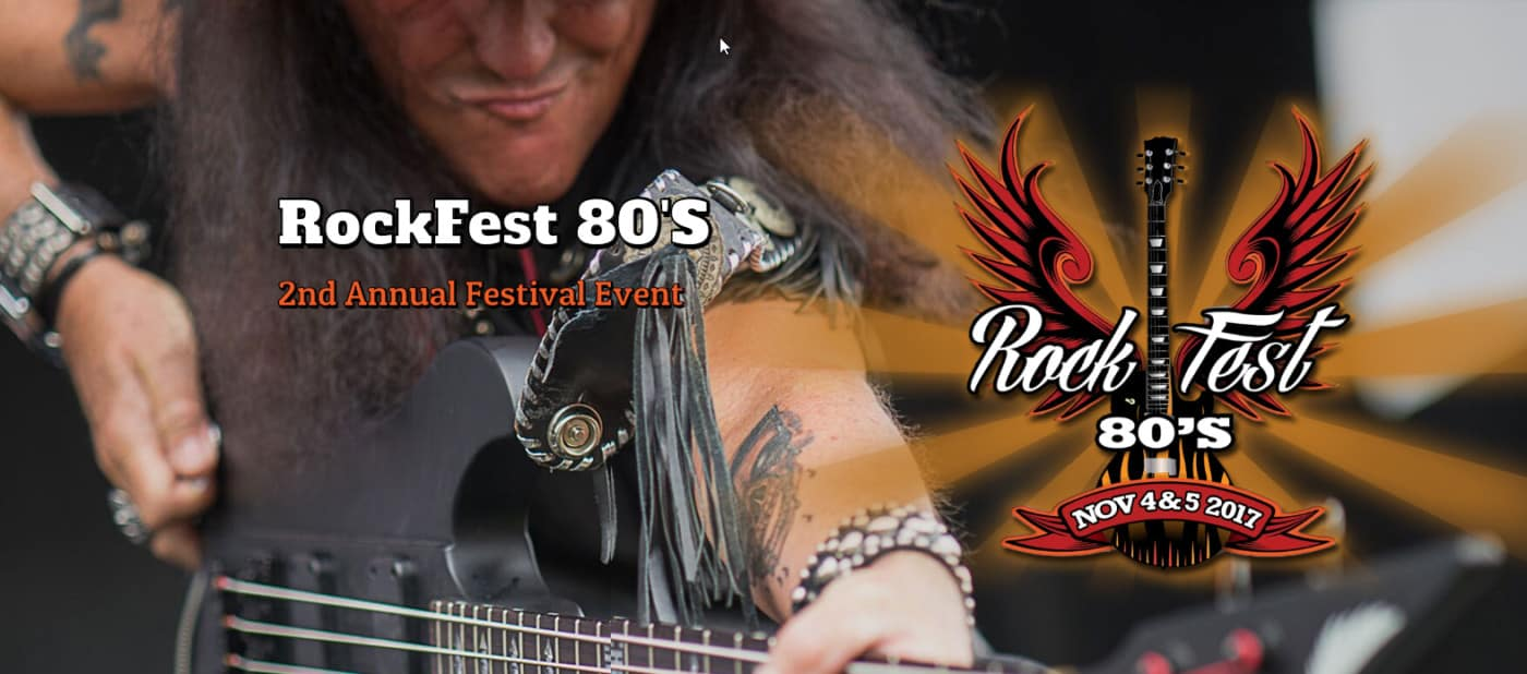Rockfest 80s-Miami