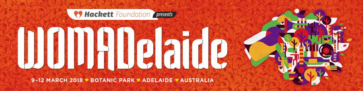 WOMADelaide Festival in AU!