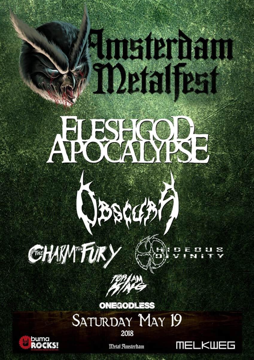 Amsterdam Metalfest in May!