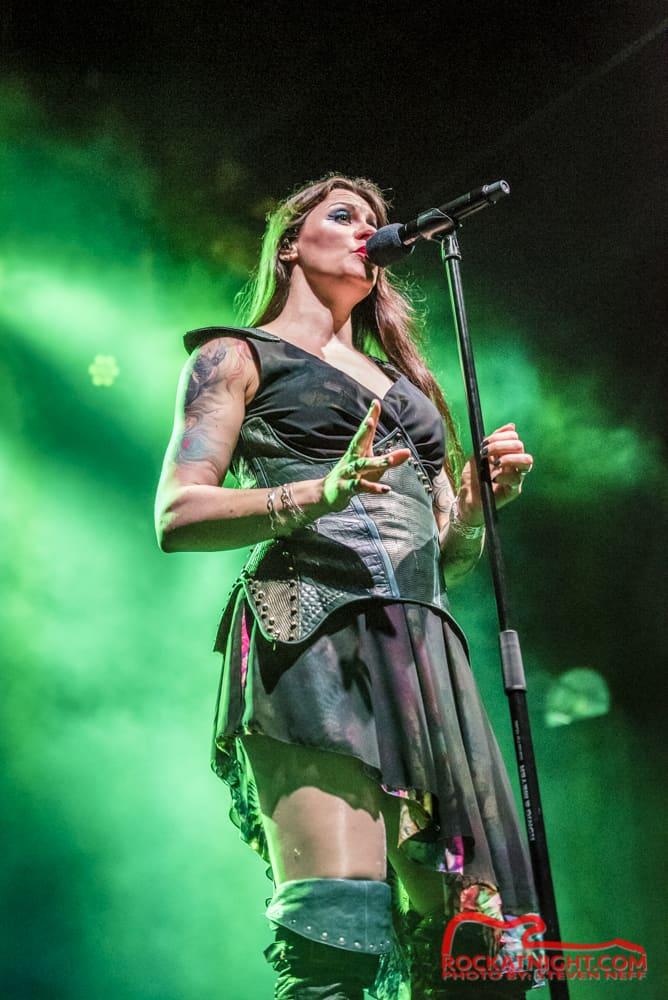 Floor Jansen of Nightwish | Rock At Night