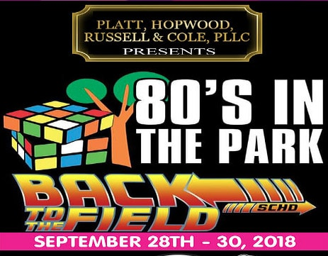 80s in the Park Fest
