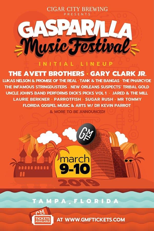 Gasparilla Music Festival-March 2019